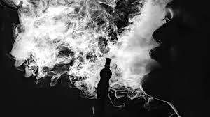 smoking shisha